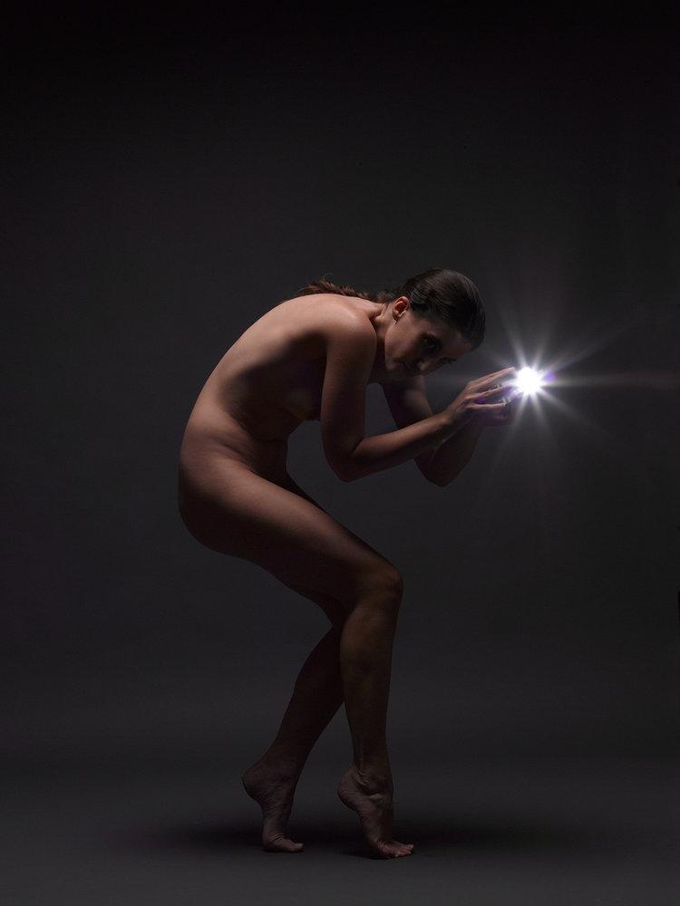 Light and Nude   Nude Female Conceptual
