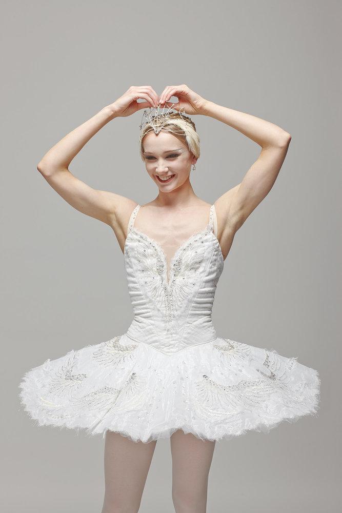 Melissa Hamilton,Ballet Dancer Royal Opera House London   Melissa Hamilton in Swan Lake Costume, Royal Festival Hall,London 2013