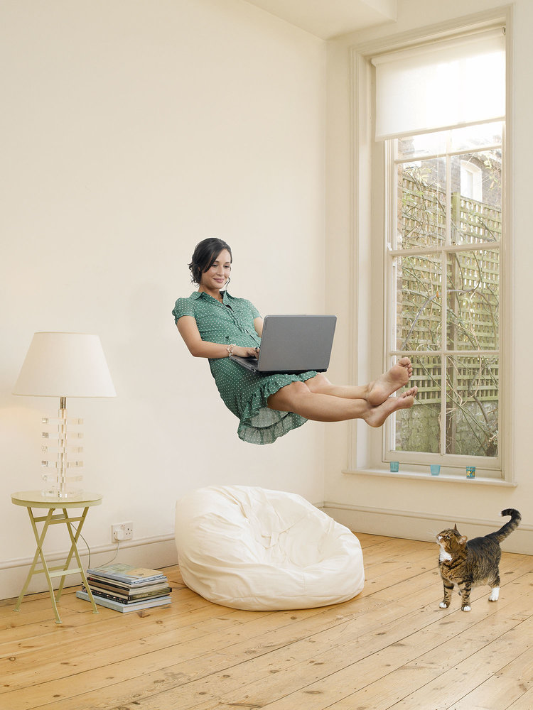 WCRS – Girl Levitating with Cat