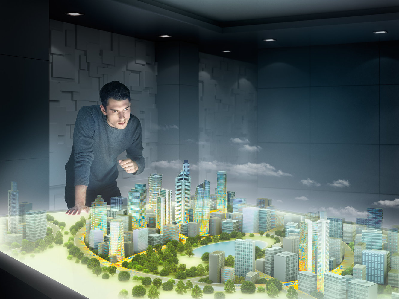 Silicon Valley Client 'Virtual City'