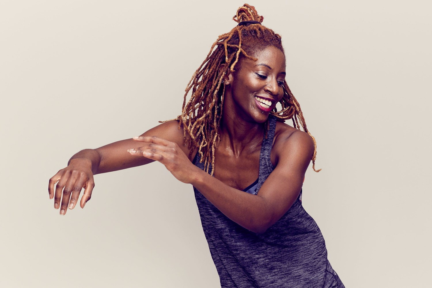 A 'MyDance' –  Ama dancing to latin vibes at The Royal Academy of Dance